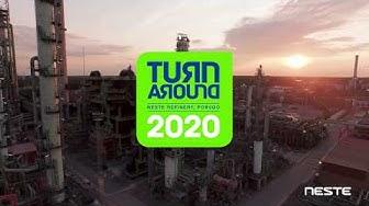 Suurseisokki 2020 Nesteen Porvoon jalostamolla