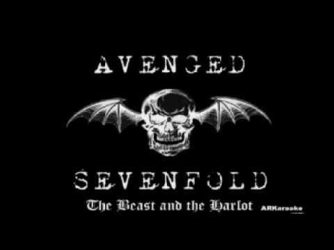 The Beast and the Harlot - Avenged Sevenfold karaoke