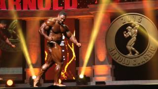 Arnold Classic 2015 Finals - Roelly Winklaar Posing Routine