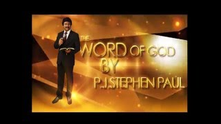 Aradana TV at 11 PM on 15-4-16 message by Dr.P.J Stephen Paul