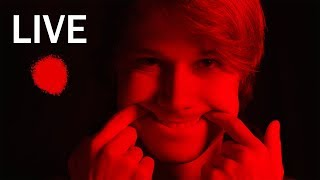 ASMR Live in the red room cause i respect your eyes