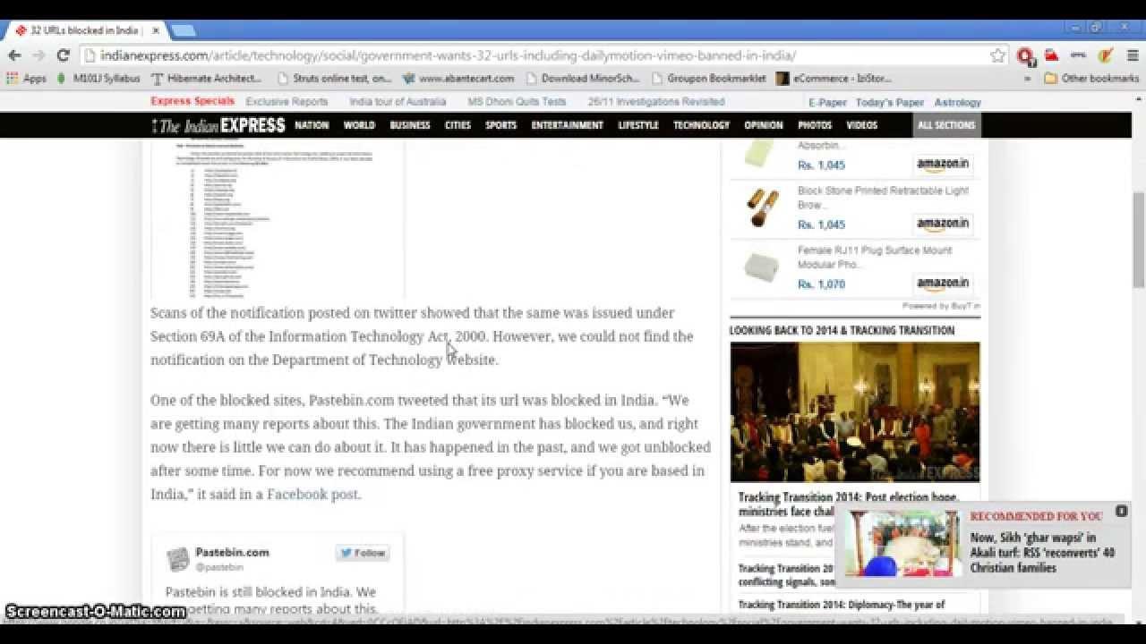 Proxy site dailymotion