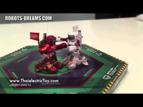 ของเล่น หุ่นยนต์บังคับต่อสู้