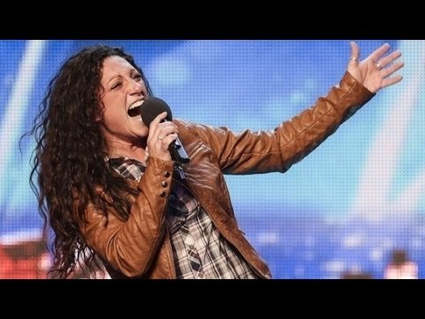 Britain's Got Talent S08E04 Eva Inglesias sings Aretha Franklin's