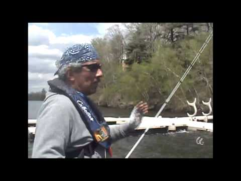 The Reel Deal Fishing Show Lake Wallenpaupack and the Bassin New Jersey Bladed Bite