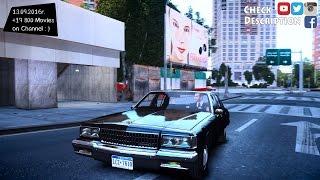 1989 Chevrolet Caprice v2 0 GTA IV ENB 2 7K 1440p