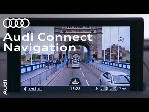 Navigation with Audi connect