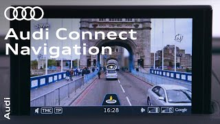 Navigation with Audi connect screenshot 5