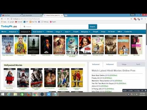 How to downlaod movies from TODAYPK online Free || 2016