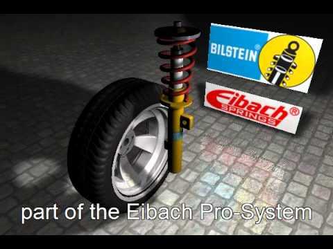 Eibach Federn - Muelles Suspensión / Suspension Springs :: Performance BILSTEIN (TAEVision Web 3D)