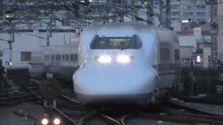【4K】700系新幹線特集 新大阪駅にて撮影 2019/6/13