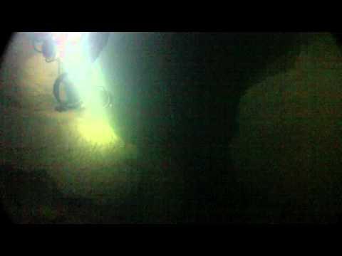 Ressel cave dive. France