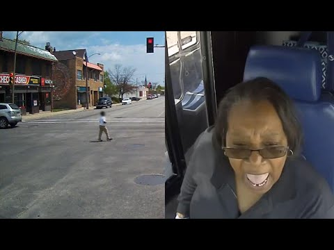 Jo Jo - Bus Driver Helps Kid In Traffic!