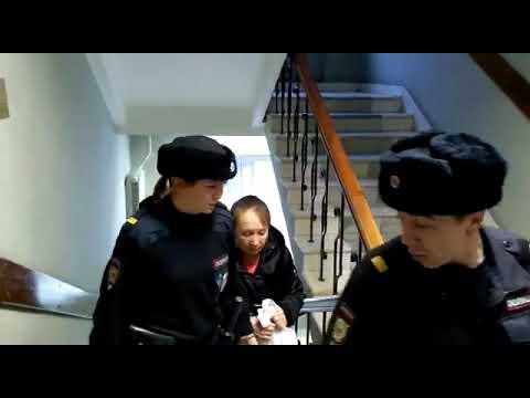 Замчинскую М., сестру министра финансов Чувашии Енелиной  привезли в суд