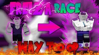 Frieza race ADDED! NEW! | OP YES OR NO!? | Roblox Dragon Ball Z Final Stand