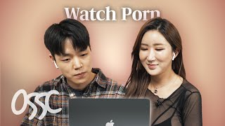 Korean Guys Try To Watch Adult Movie With Adult Movie Star