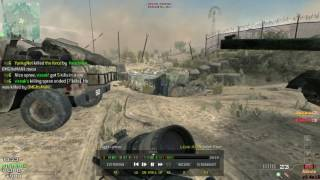 call of duty modern warfare 3 multiplayer quick scope gameplay by VR