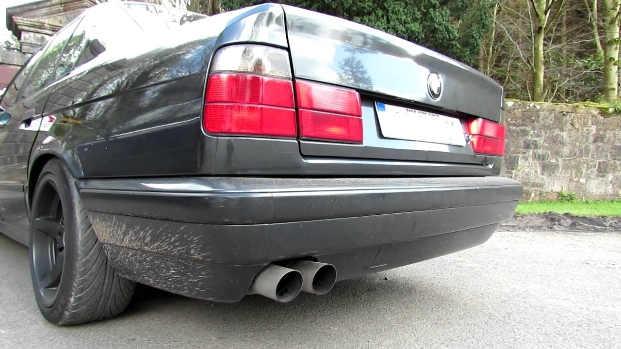 Bmw E34 525i M50 Vanos Uuc Autowerks Exhausts Sound Full