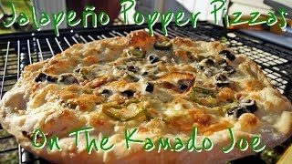 Game Day Jalapeño Popper Pizzas On The Kamado Joe