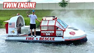 I Bought a MASSIVE Fire & Rescue HOVERCRAFT!