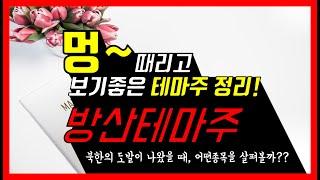 [주식테마파크] #01 방위산업테마주 BEST 3, 북…