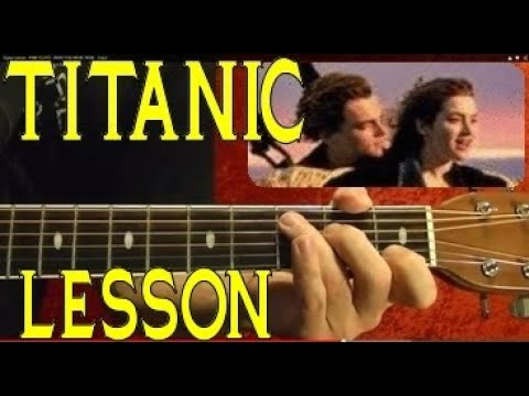TITANIC Theme 🔷( Lead And Chords ) Guitar Lesson