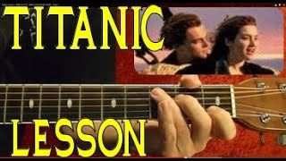 TITANIC Theme ( Lead and Chords ) - Guitar Lesson ♫ ♪♫ ♪