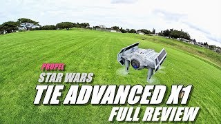 Propel STAR WARS Tie Fighter Advanced X1 Review - [Unboxing, Inspection, Flight Test, Pros & Cons]