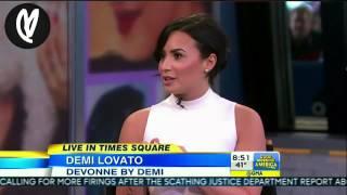Demi Lovato on Good Morning America – March 12th, 2015  [HD]