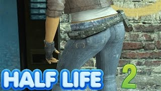 Half Life 2 - Alyx Vance is HOT (SNIPING IN Half Life 2)