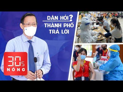 Bản tin 30s Nóng: Ông Phan Văn Mãi gặp dân qua livestream tối nay; Tiêm 2 mũi vắc xin được ra đường?
