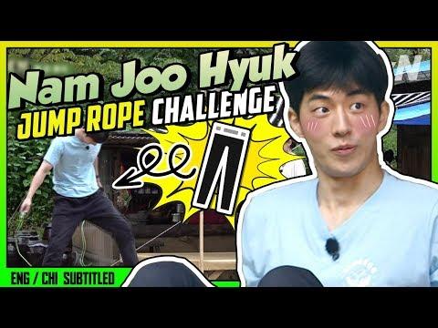 ★NAM JOO HYUK★ Jump Rope Challenge (ENG/CHI SUB) | 3 Meals A Day -  Mountain Village [#tvNDigital]