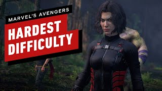 Marvel's Avengers Beta - 9 Minutes of Black Widow Gameplay on the Hardest Difficulty