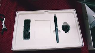 Huion H950P Graphic Tablet unboxing and review by Vipul Arora
