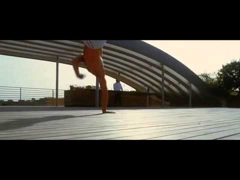 Vincent Cassel performs Capoeira on the top