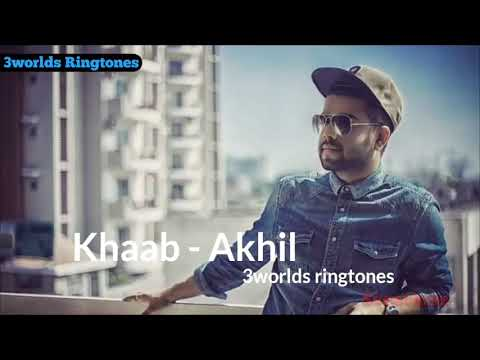 Ringtone by khaab-akhil best panjabi ringtone from editor serry