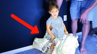 100 LAYERS OF DIAPERS!! | Funny