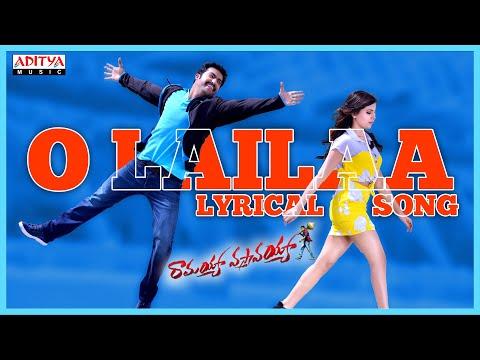 Ramayya Vasthavayya Full Songs With Lyrics - O Laila Song - Jr. NTR, Samantha, Sruthi Haasan