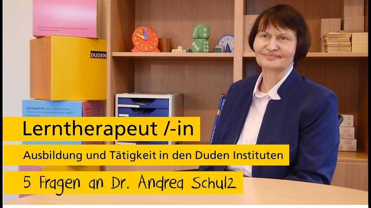 Lerntherapeut/-in | Ausbildung und Tätigkeit im Duden Institut für ...