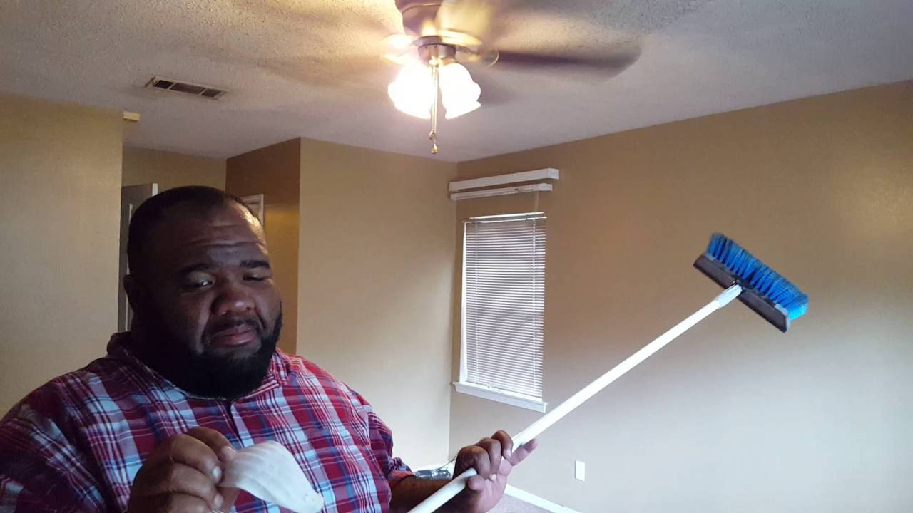 How To Clean A Popcorn Ceiling Without Water Or Cleaning S