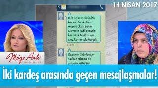 Gambar cover İki kardeş arasında geçen mesajlaşmalar! Müge Anlı ile Tatlı Sert 14 Nisan 2017 - atv