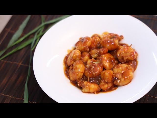 থাই স্টাইলে সুইট এন্ড সাওয়ার প্রণ গ্রেভি রেসিপি । Sweet and Sour Prawn Gravy