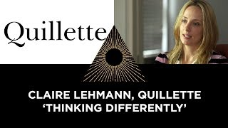 Claire Lehmann & Quillette, Thinking Differently
