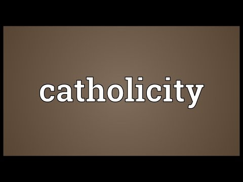 Header of catholicity