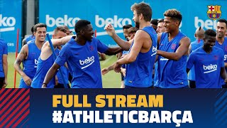 FULL STREAM |  Last training session ahead of La Liga debut