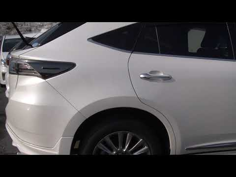 2016 г Toyota Harrier 4 WD