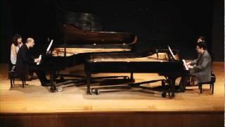 Astor PiazzollaLibertangofor two pianos Daniel CunhaEvangelos Spanos