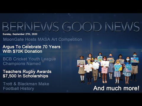 "Bernews ""Good News"" Sunday Spotlight, September 27, 2020"