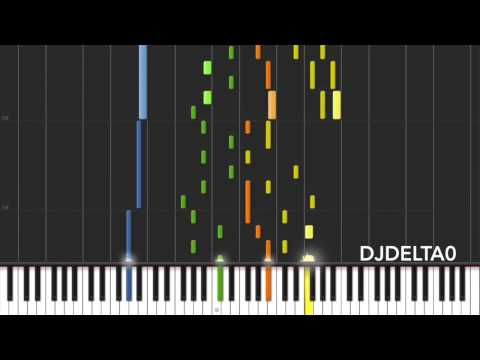 Lullaby for a Princess [Synthesia] [DUET] - Piano Transcription by DJDelta0