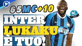 Romelu Lukaku débarque à l'Inter Milan | Revue de presse